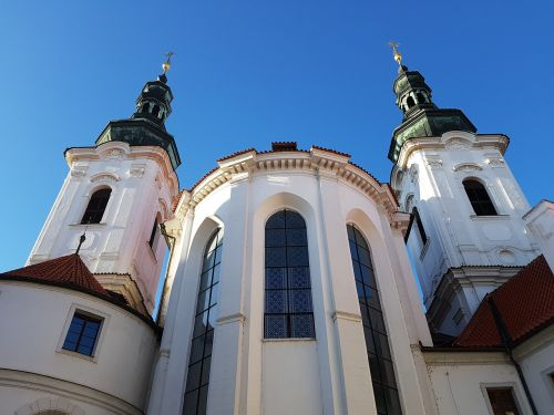 church,prague,the pétrin,monument,tower,czech republic,strahov monastery,architecture,baroque