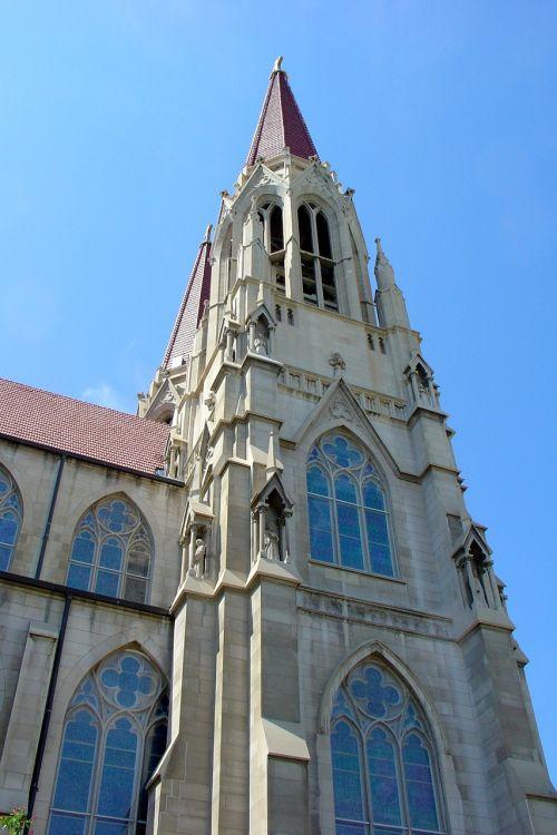 church steeple spire