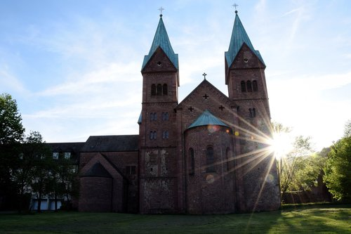 church  monastery church  steeple