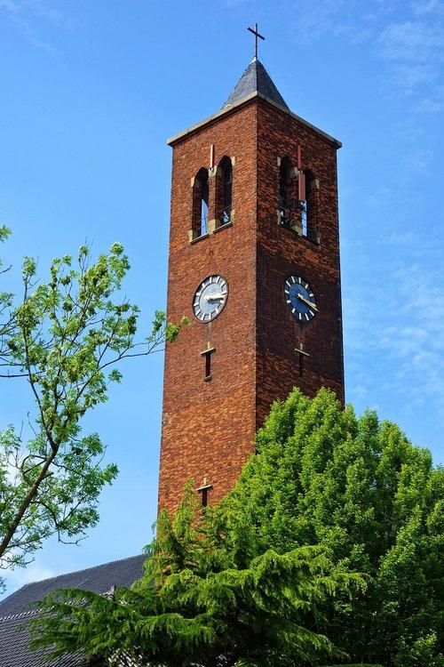 church  church tower  tower