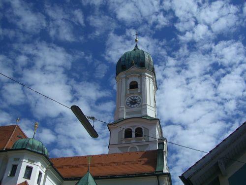 church steeple tower hood