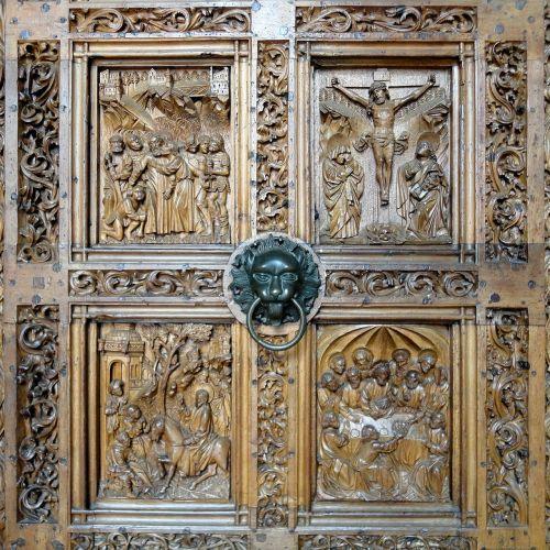 church church door portal