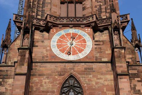 church  münster  clock