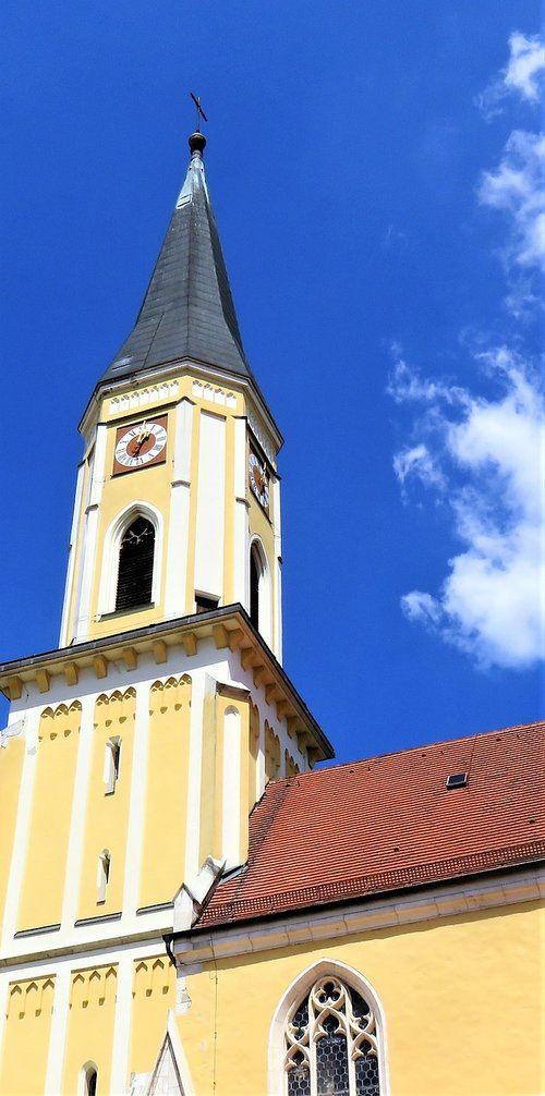 church  church tower  architecture