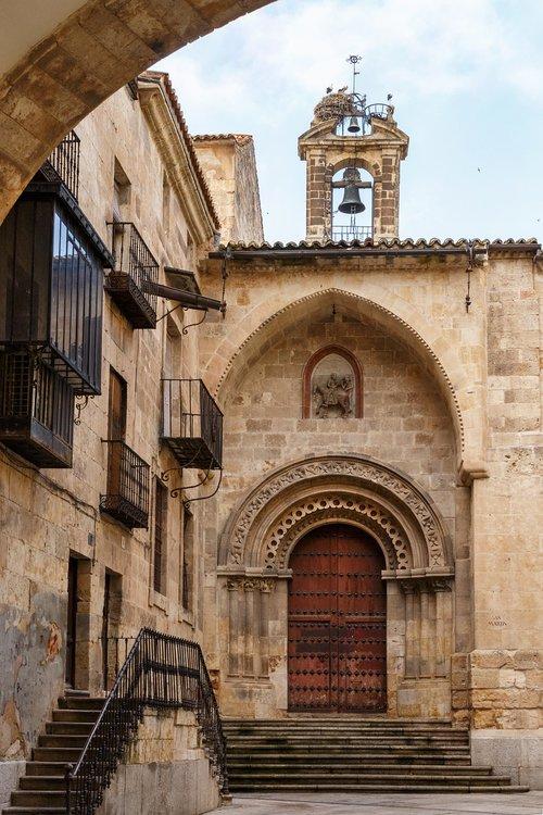 church  gate romanesque  architecture