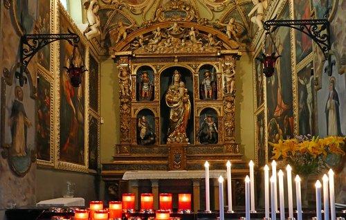 church  religion  altar
