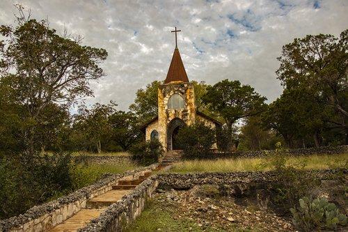 church  chapel  landscape