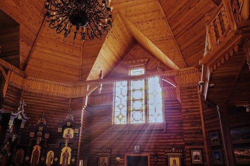 church  light  glass