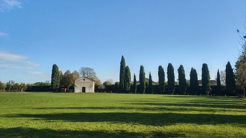 church  prato  landscape