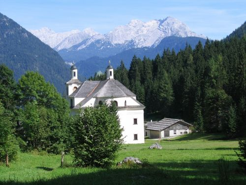 church maria kirchenthal landscape