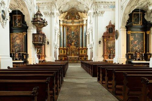 church  inside  architecture