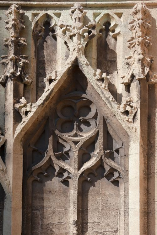 church tracery gothic