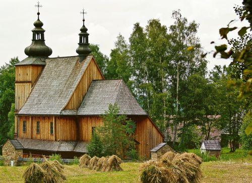 church wooden village