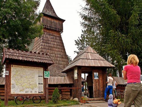 church dębno malopolska
