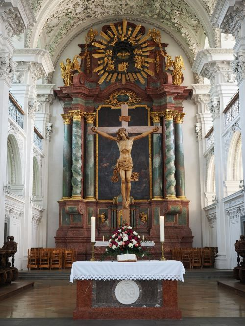 church wedding altar altar
