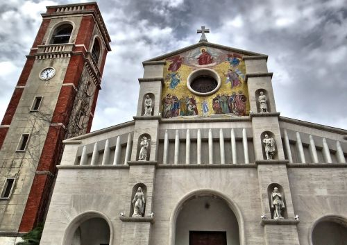 church steeple tuscany
