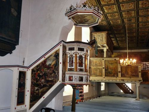 church pulpit sebnitz
