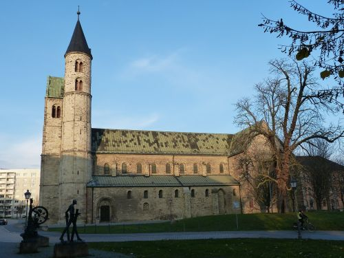 church steeple magdeburg