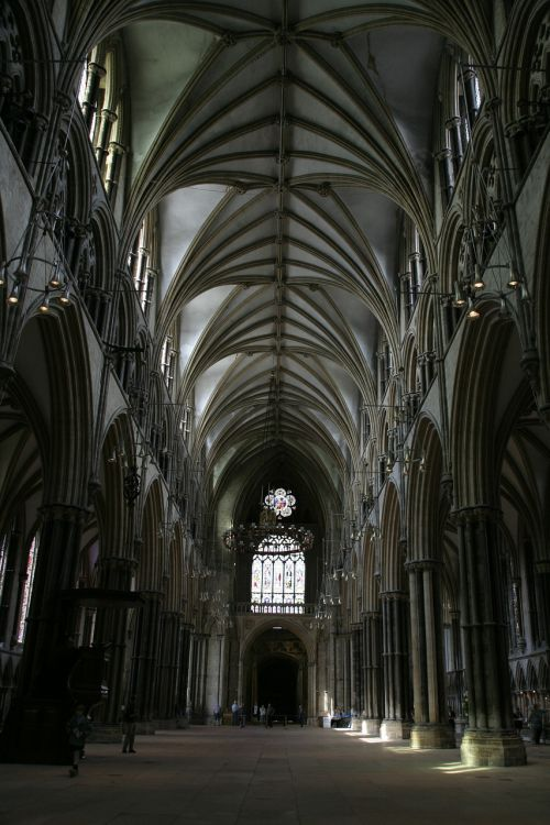 church gothic aisle