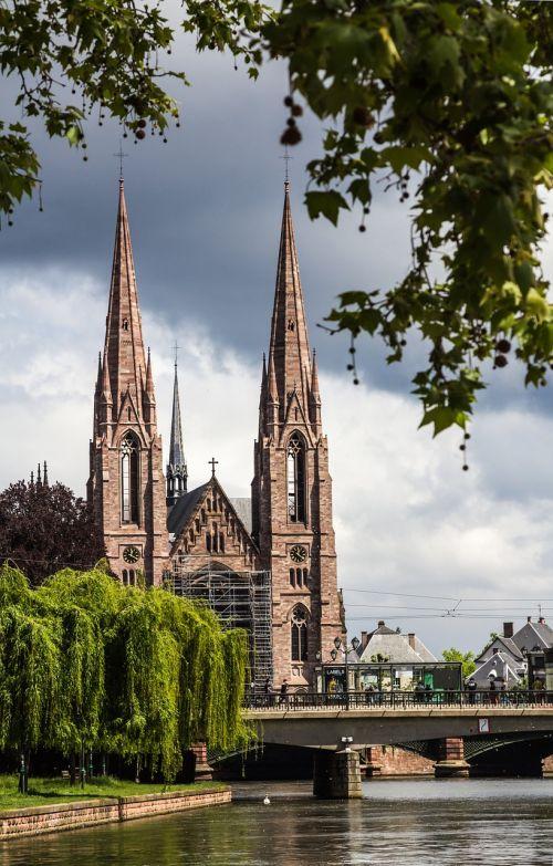 church river steeple