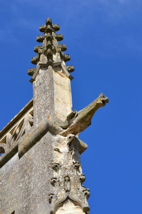 church gargoyle pierre