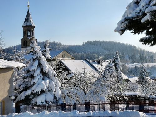 church saupsdorf winter