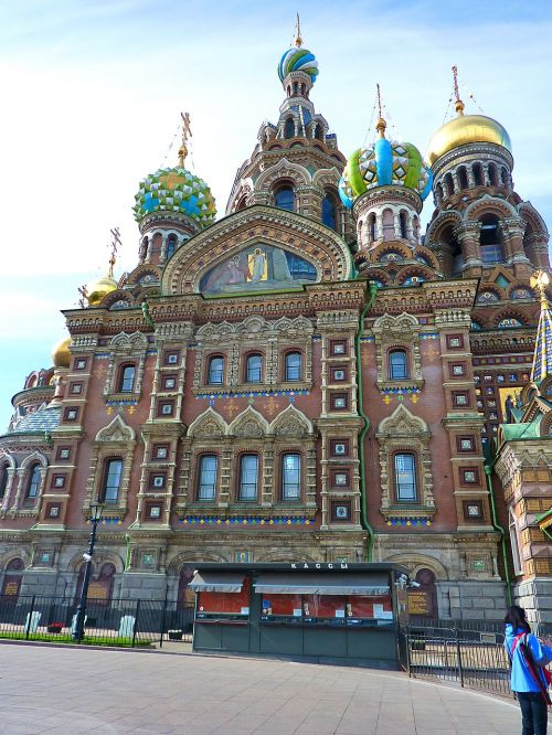 church russian st petersburg