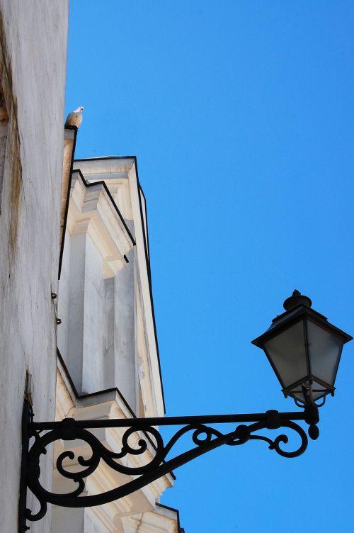 church sky dove