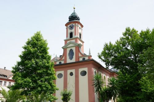 church mainau lake constance