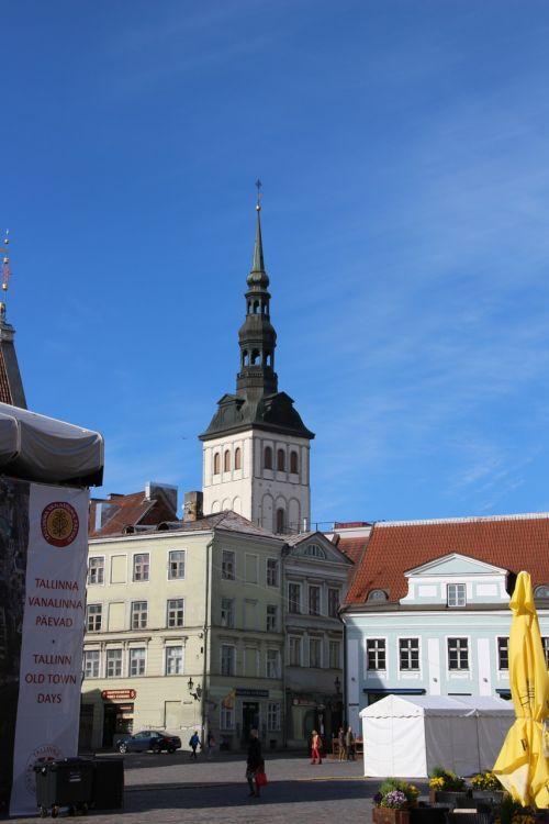church old town estonia