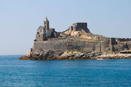 church sea promontory