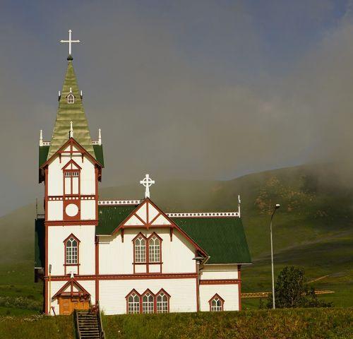 bažnyčia,husavik,iceland
