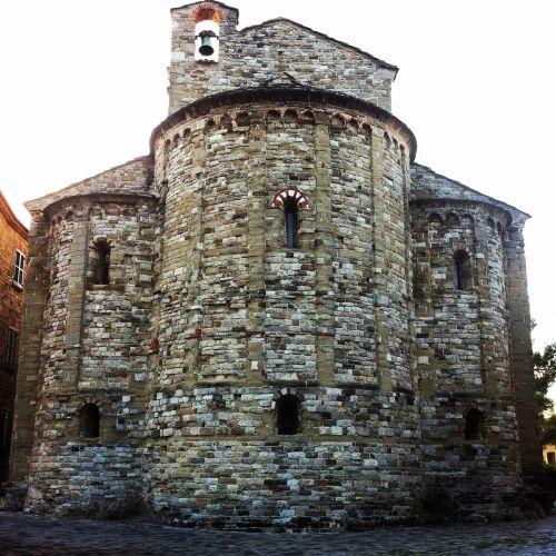 church romanesque stone