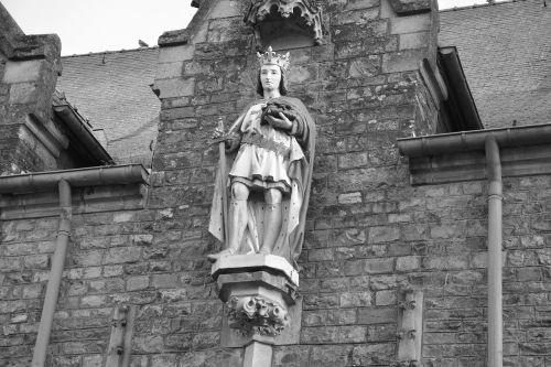 church acigné brittany france ille et vilaine