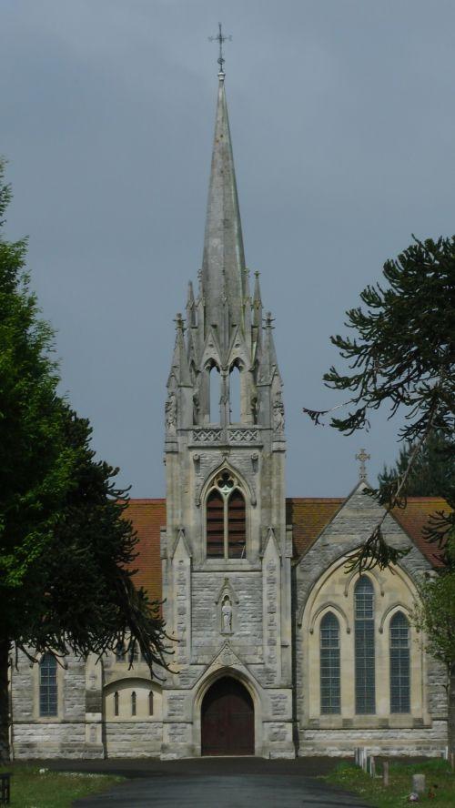 Church Chapel In Cemetery