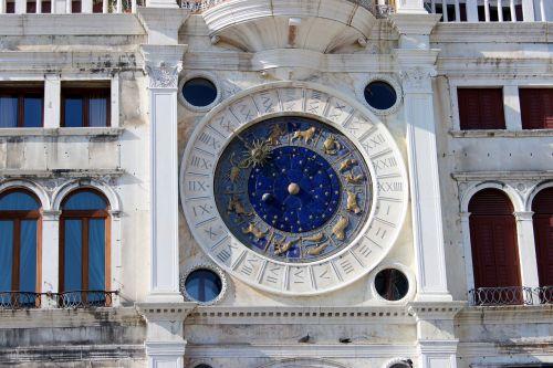 church clock st mark's square zodiac sign