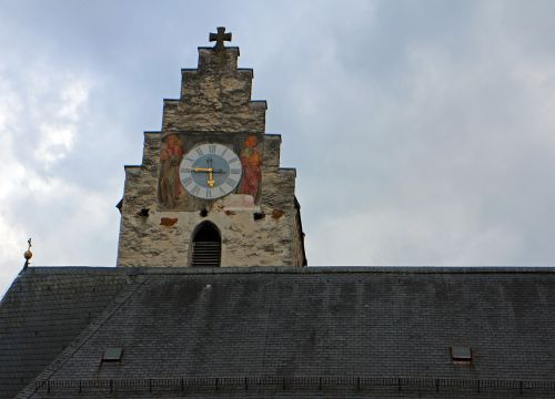 church clock clock tower historically