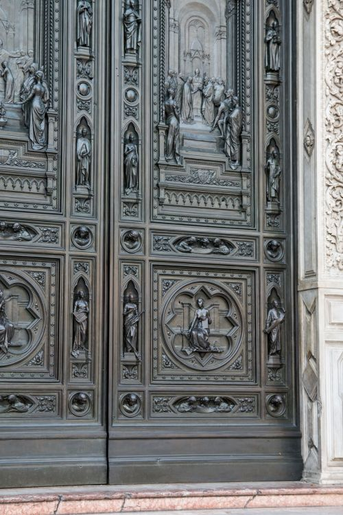 church door cathedral of florence florence cathedral