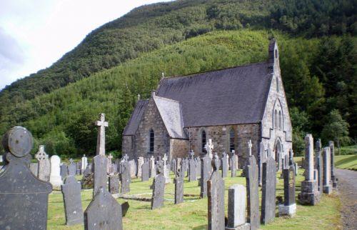 Highlands, Škotija, ramybė, ramybė, tyla, ramybė, ramybė, taika, bažnyčia, kirk, poilsis, galutinis, galutinis & nbsp, poilsio & nbsp, vieta, galutinis & nbsp, poilsis, malda, melstis, kapinės, bažnyčia kalnuose