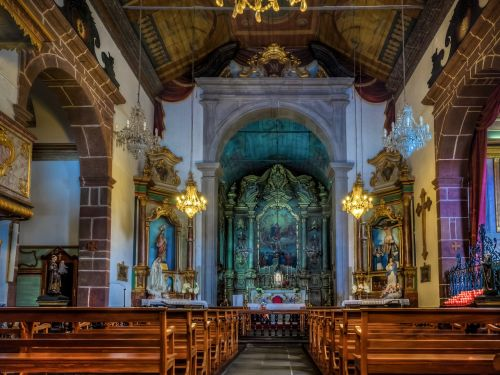 church madeira hdr funchal