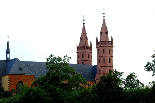 church of our lady of worms church building