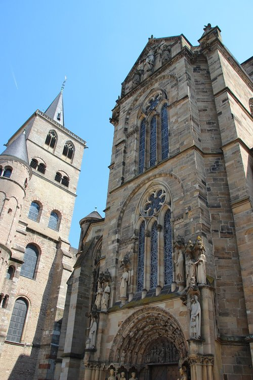 church of our lady trier  gothic  gothic church