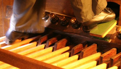 church organ pedals organ