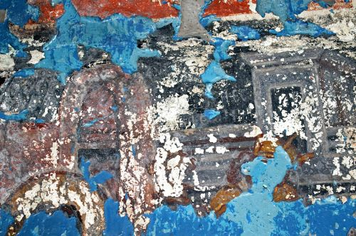 church painting painting painted over