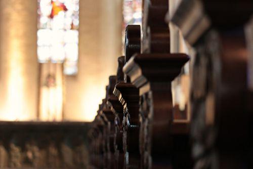 church pews benches altar