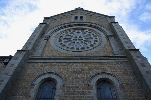 church rochebonne brittany france heritage