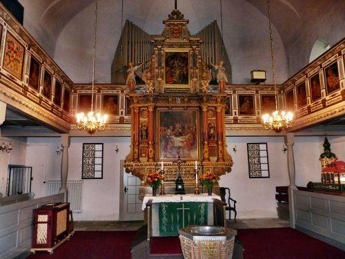 church sebnitz sebnitz altar