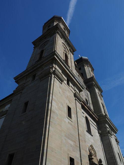 church steeples church friedrichshafen