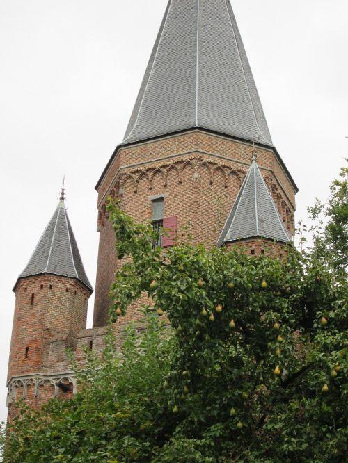 church tower tower church
