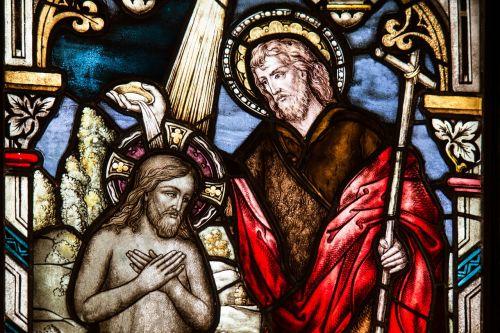 church window baptism sacrament